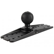 "11"" x 3"" Flat Base Plate with 2.25"" Ball"
